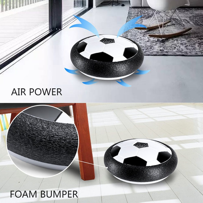 Indoor Led Hover Air Power Soccer Disc