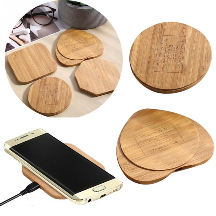 Bamboo Wireless Charger Iphone Android