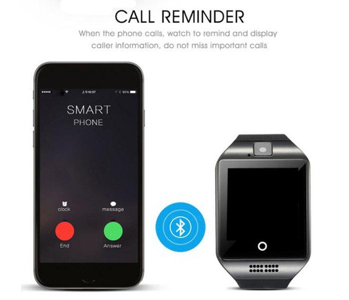 Q18 passometer bluetooth smart watch