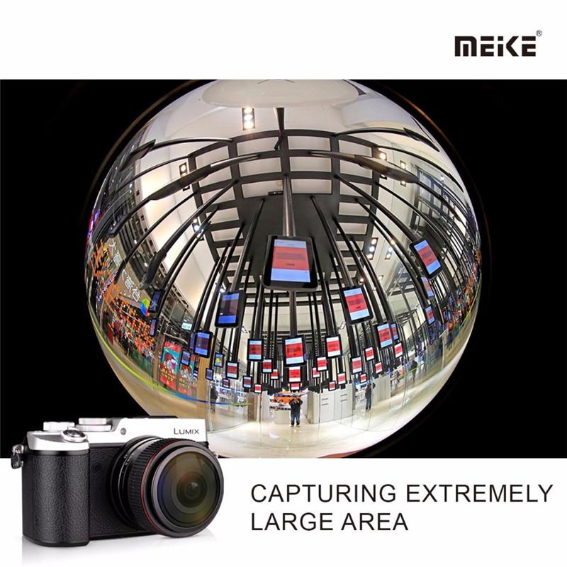 Meike 6.5mm f2.0 Wide Manual Focus Fisheye Lens Panasonic Olympus