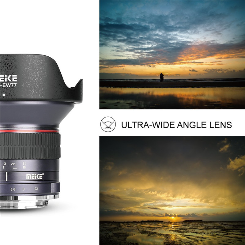 Meike 12mm f2.8 Wide Angle Manual Fixed Lens For Canon EF-M Camera