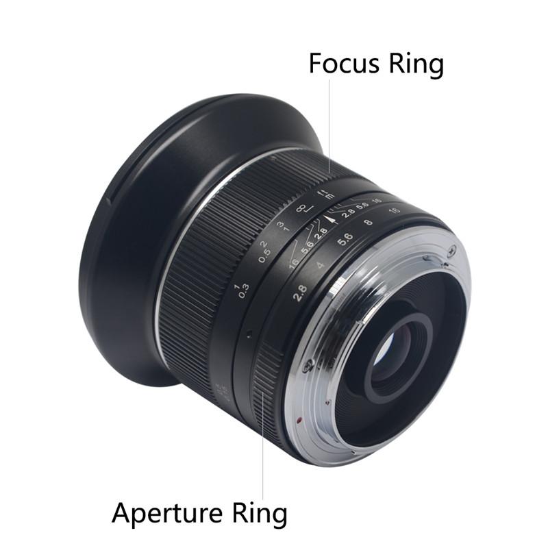Mcoplus APS-C 12mm F2.8 Wide Angle Macro Manual Focus Lens