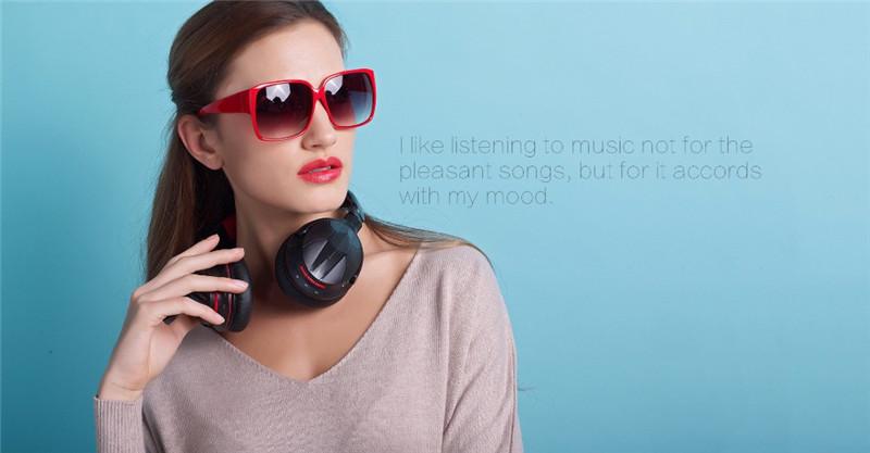 M04s HiFi NFC Bluetooth Headphone Over Ear Wireless Headphones
