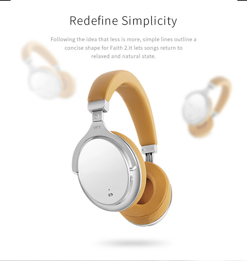259f61c7620 ... F2 Active Noise Cancelling Wireless Bluetooth Headphones wireless  Headset ...
