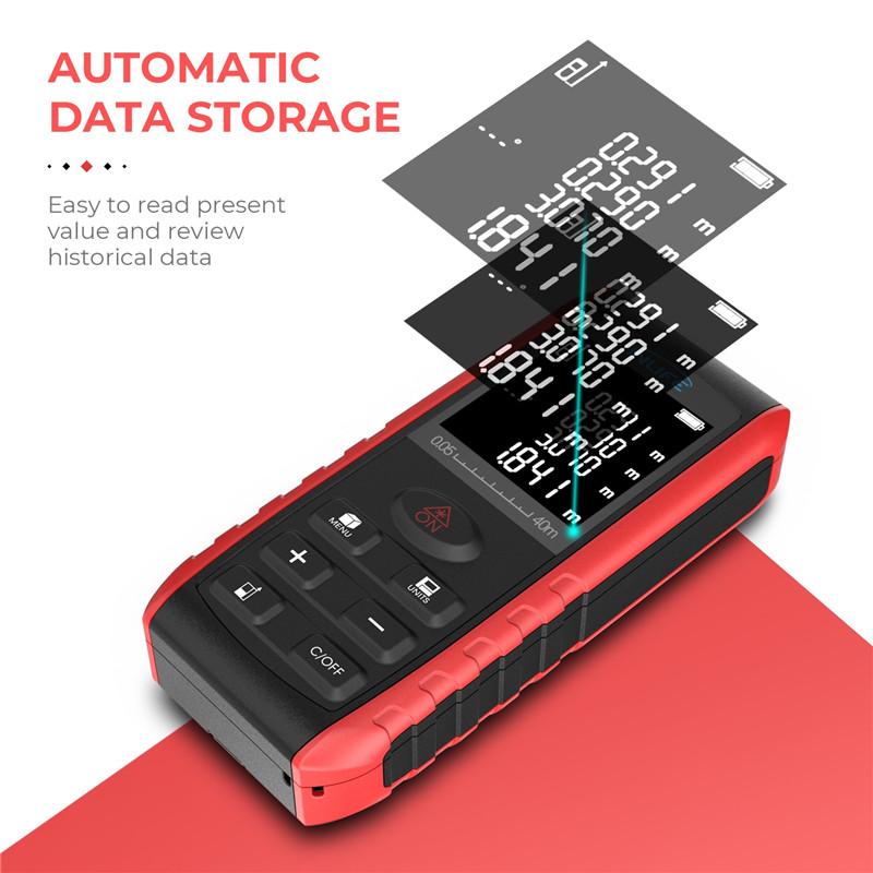 Inlife E40 40M Handheld Digital Laser Distance Meter